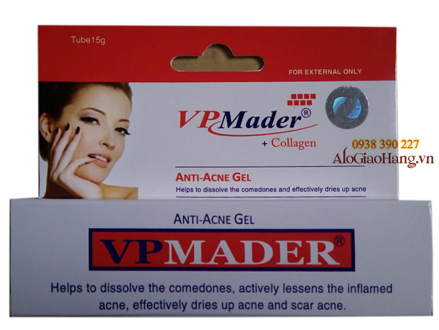 VPMader - Gel Trị Mụn VPMader Collagen