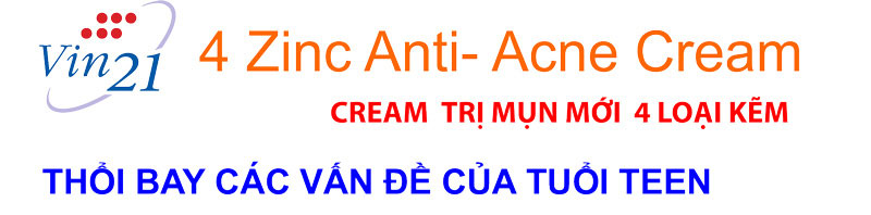 Vin 21 4ZINC ANTI-ACNE CREAM